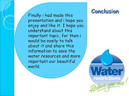 water resources power point presentation  25