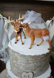 Sign Hunting Wedding Cake Topper Deer Wedding Buck And Doe Woodland