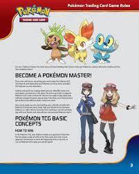 Pokemon HD: Pokemon Trading Card Game Rules Original