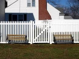 vinyl picket fence front yard. Image Of: White Vinyl Picket Fence Panels Lets Examine Wonderful Ideas Pertaining To Front Yard