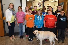 Therapy dog at Westchester Intermediate   Chesterton News   nwitimes.com