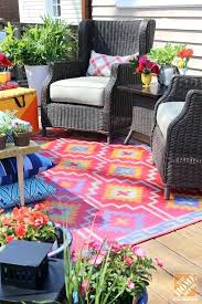 prissy ideas colorful outdoor rugs new rug for a loud laid back patio makeover area