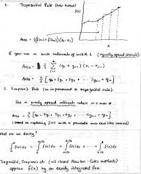 Numerical Integration And Differentiation
