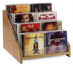 cd dvd holders for retail display feature countertop design