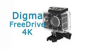 Обзор <b>Digma FreeDrive Action</b> 4K   VideoregObzor