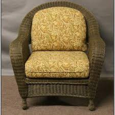 Wicker Seat Cushions Outdoor Chairs Home Decorating Ideas %hash%