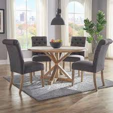 Dark Grey Dining Chairs Kitchen Dining Room Furniture The Delectable Grey Dining Room