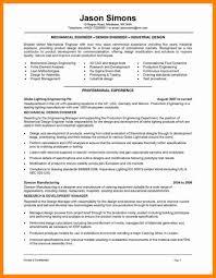 Mechanical Design Engineer Resume Samples 10 Mechanical Engineer Resume Examples Mechanical Resume