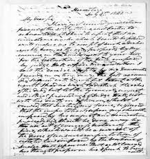 Andrew Jackson to Lewis Fields Linn, July 4, 1842 - PICRYL Public Domain  Image