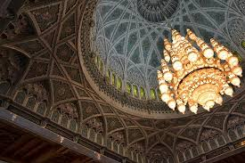 sultan qaboos grand mosque co street view the biggest chandelier in the world