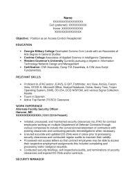 Intelligence Specialist (I&TS) or Intel Spec (S&T) Resume Sample - Before-