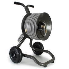 wheeled garden hose reel cart portable garden hose reel carts yard butler ht two wheeled hose