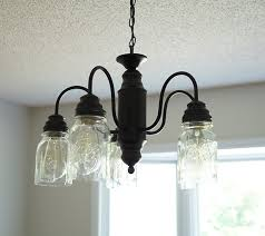 diy mason jar chandelier beautiful diy mason jar chandelier farmhouse style savedbyloves of diy mason jar