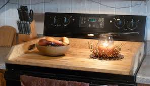 gas custom range for handle master top cover plans board wooden licious decorativ cutting stovetop gap