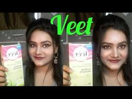 veet waxing strips private part say
