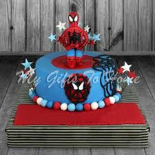 Spiderman Cake Gifts To Pakistan
