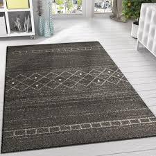 retro rug dark grey patterned carpet 120x170 modern soft new 160 cm x 230 cm mat