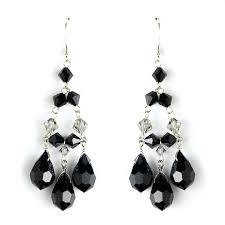 black chandelier earrings black chandelier earring earrings with multi black chandelier earrings with crystals