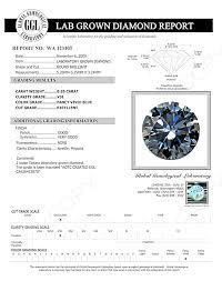 Blue Diamonds Lab Grown 55ct Excellent Cut Blue Diamond