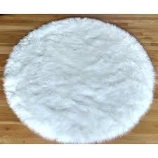 faux fur sheepskin white round area rug pink australia