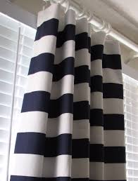 Navy And White Curtains Navy Blue Curtains Blue And White Curtains Uk Blackout For Baby