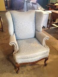 vine wing chair before upholstery sewell nj