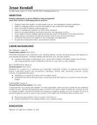 Objective On A Resume Srhnf Info
