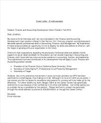 Example Of Cover Letters For Accounting Jobs Resignation Letter