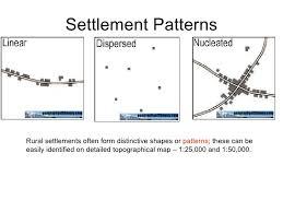 Settlement Patterns Unique Igcse Settlement Change Review