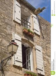 Typical Provencal Stone House Stock Photo Image Of Facade