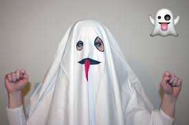 ghost costumes sheet small things super easy emoji costumes