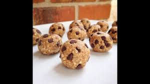 tresen healthy chocolate chip cookie dough bites recipe herbalife f1 cookies and cream meal shake