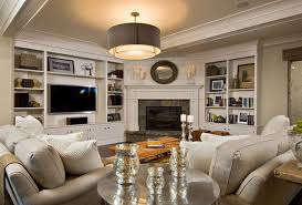 cozy living room with fireplace. Living Room Arrangement With Corner Fireplace In White Wall Theme Cozy O
