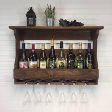 wooden wine rack wall mounted wine rack handcrafted rustic wine rack wall mount wooden wine rack wine crate wedding gift