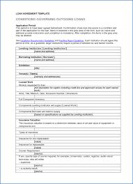 Supply Contract Templates 24 Blank Loan Agreement Template SampleResumeFormats24 24