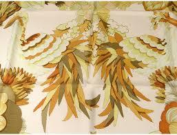 carré soie foulard hermès paris tahiti oiseaux 90cm vine c latham è