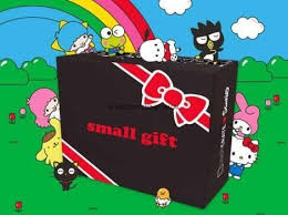 loot crate sanrio small gift crate winter 2017 spoilers