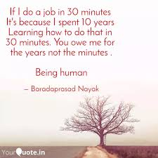 How To Do A Quote For A Job If I Do A Job In 30 Minut Quotes Writings By