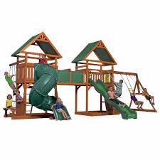 Backyard Discovery Grand Towers All-Cedar Swing Set. Backyard Ideas KidsBackyard  PlayBest ...