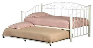 Sleepys Twin Mattress Daybed Metal Day Bed Frame With Pop Up High ...
