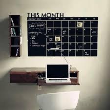 month calendar chalkboard <b>sticker</b> blackboard removable planner ...