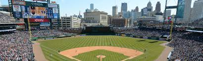 Seating Chart Comerica Park Detroit Mi Comerica Park Tickets And Seating Chart