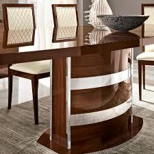 Italian Walnut Dining Table Caligula Italian Walnut High Gloss Extending 2 245m Dining Table