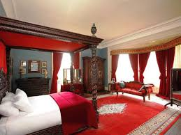 Black And Red Bedroom Ideas With Tudor Style Bed Enchanting Painting Bedroom Furniture Ideas Style Property