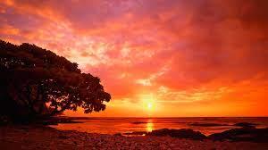 Sunset Landscape Wallpaper #6931669