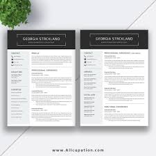 2 Page Resume Template Classy Find Your Career Opportunities In Emerging Economic Activities With