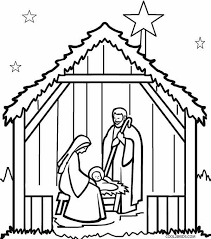 Printable Nativity Coloring Pages Nauhoituscom All About 10k