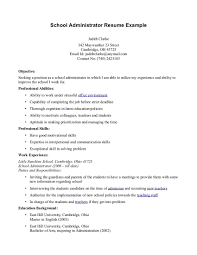 breakupus pleasant school principal resume elementary school breakupus pleasant school principal resume elementary school resume teacher cover entrancing school secretary resume secretary cover letter sample
