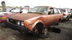 1980 Toyota Corolla Station Wagon – Junkyard Find