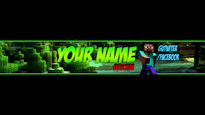 youtube channel art minecraft. Modren Channel Free Minecraft YouTube BannerChannel Art Template 2 PSD Download   To Youtube Channel